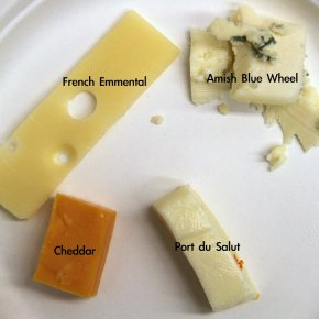 Does your cheese taste of microbes?
