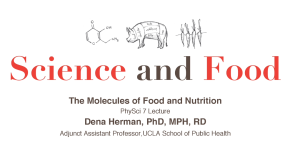 The Molecules of Food and Nutrition