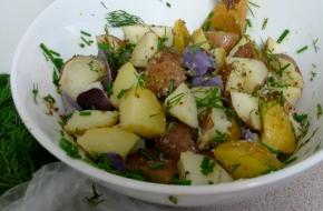 Tri-Color Potato Salad