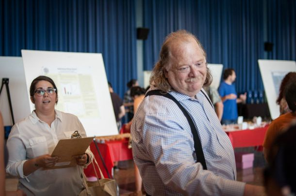 Special guest judges, Nicole Rucker of Gjelina Take Away and food critic, Jonathan Gold