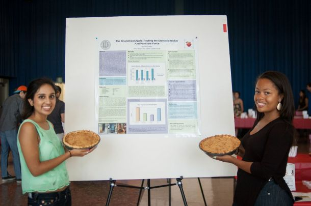 "Apple Queens, Alina Naqvi and Ashley Upkins-Scott, stole the show and won both ""The People's Choice Pie"" and  ""Best Overall Pie"" prize"