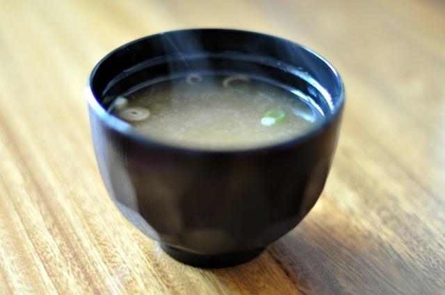 Miso Soup. Photocredit: (palnatoke/Wikimedia Commons)